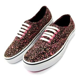 Vans Authentic Glow in the Dark Skate Shoes